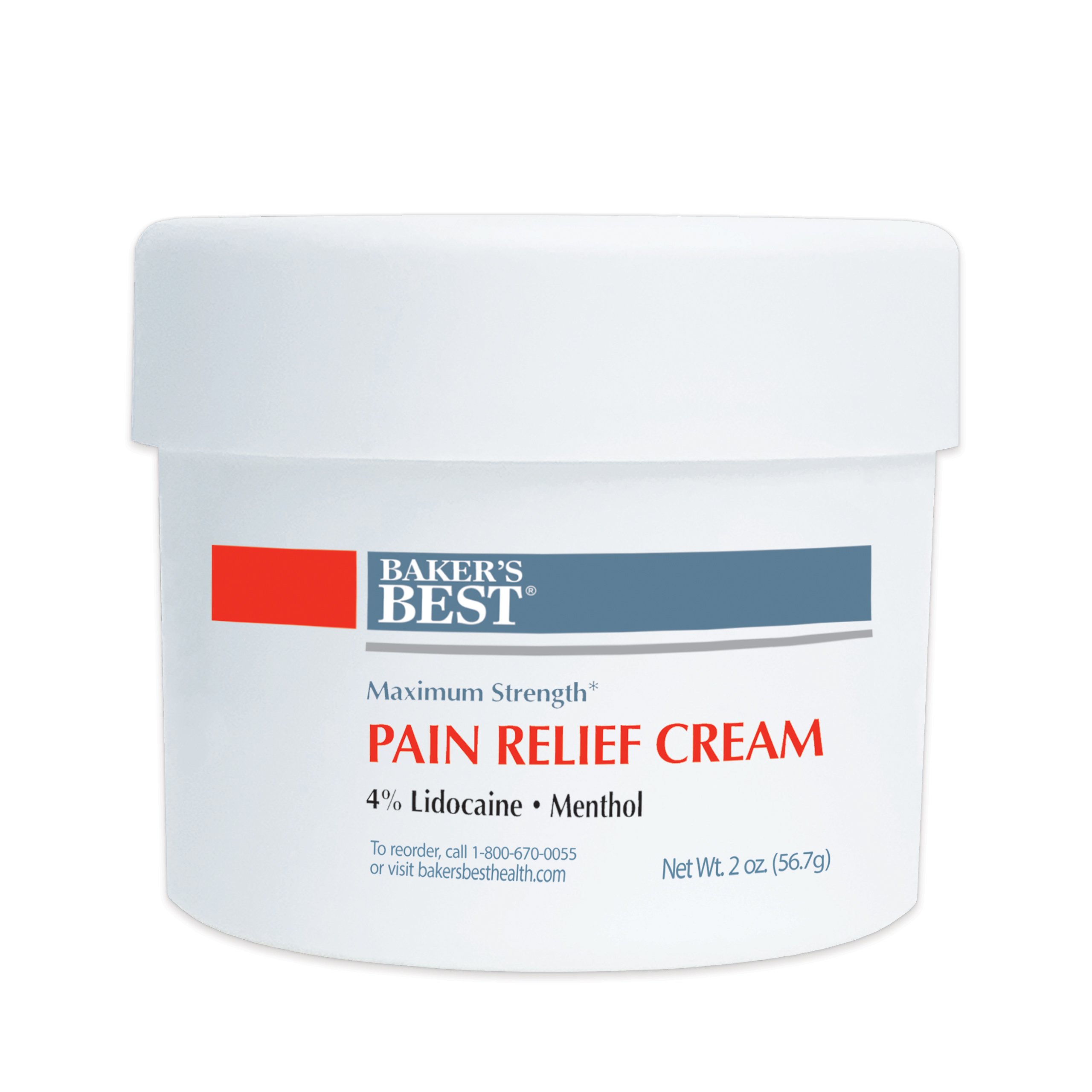 Maximum Strength Lidocaine Pain Relief Cream