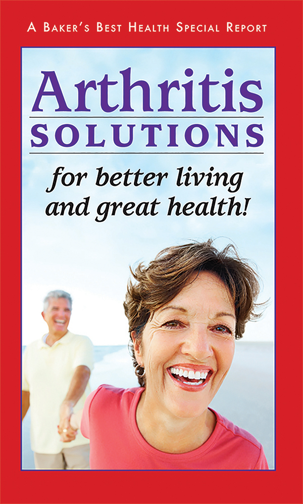 Arthritis Solutions for better living and great health!