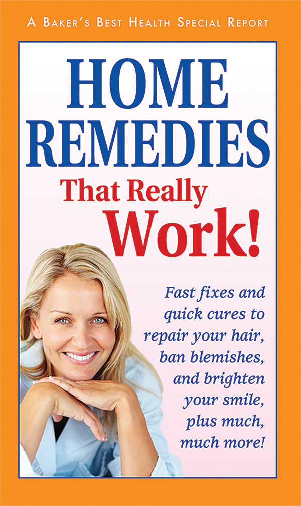 Home Remedies That Really Work!