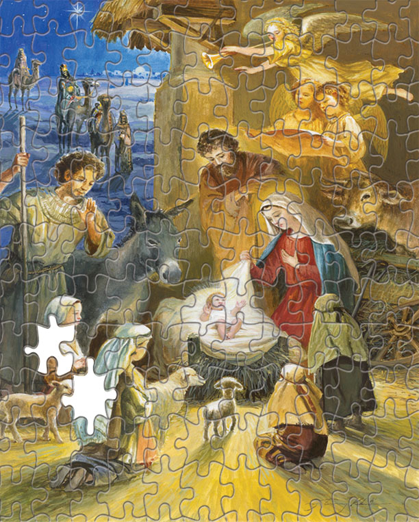 Barton Cotton Holiday Card Center - Holy Infant