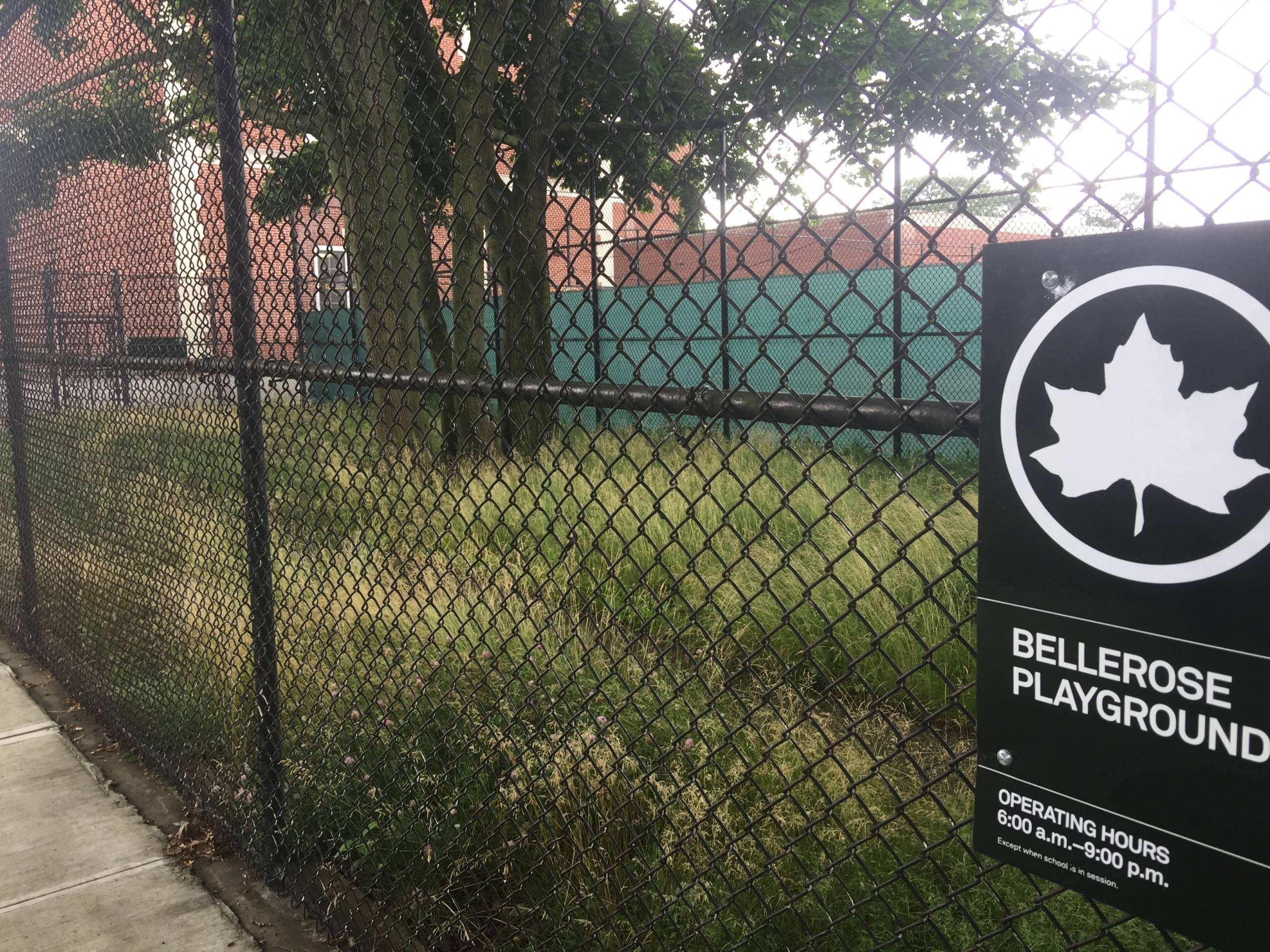 Site of Future Bellerose Reading Garden
