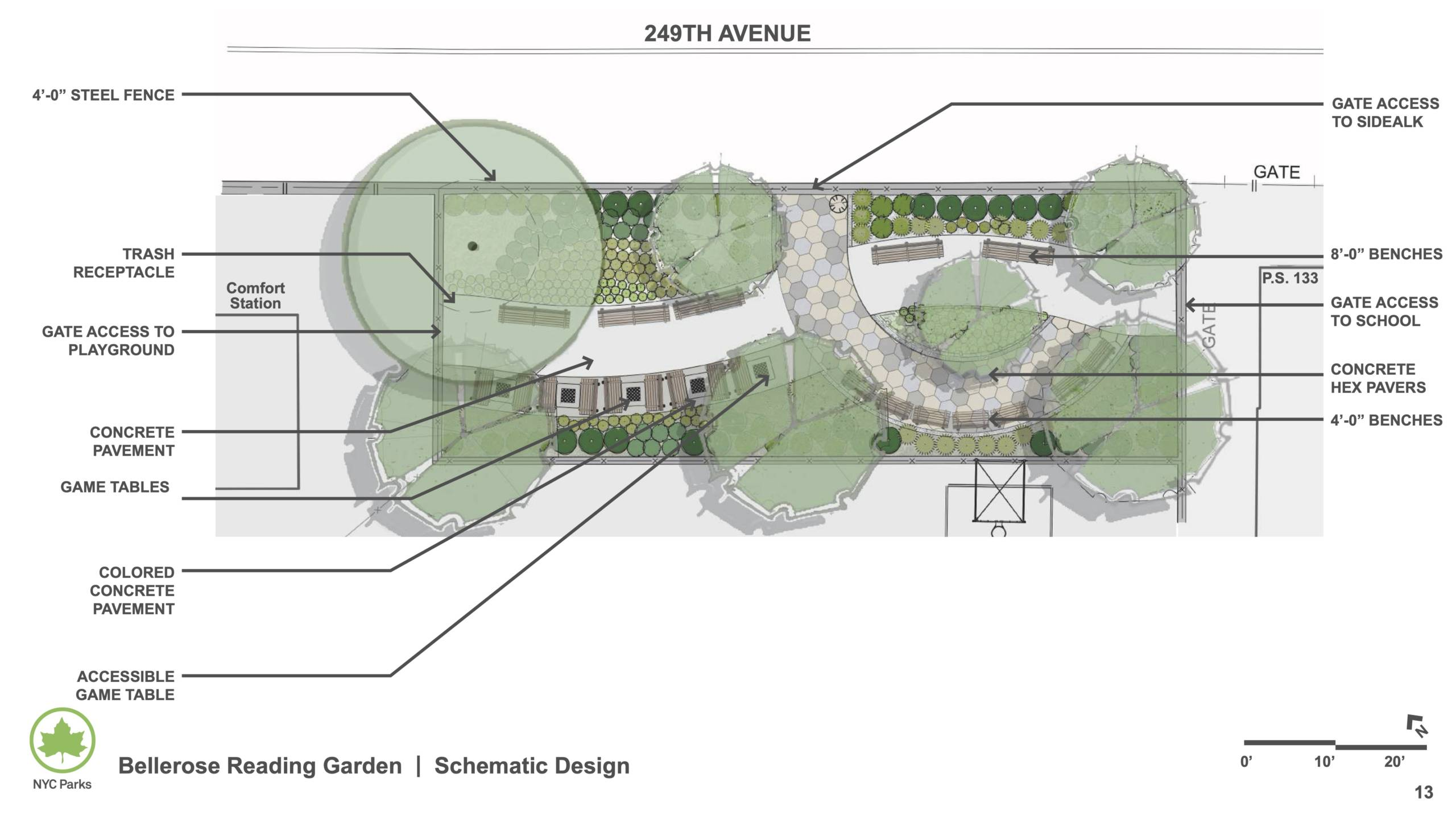 Reading Garden Preliminary Design