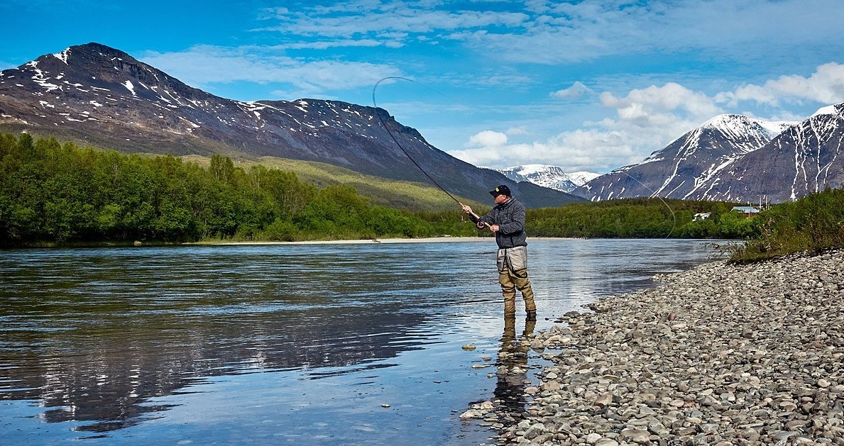 argentina lake district fly fishing
