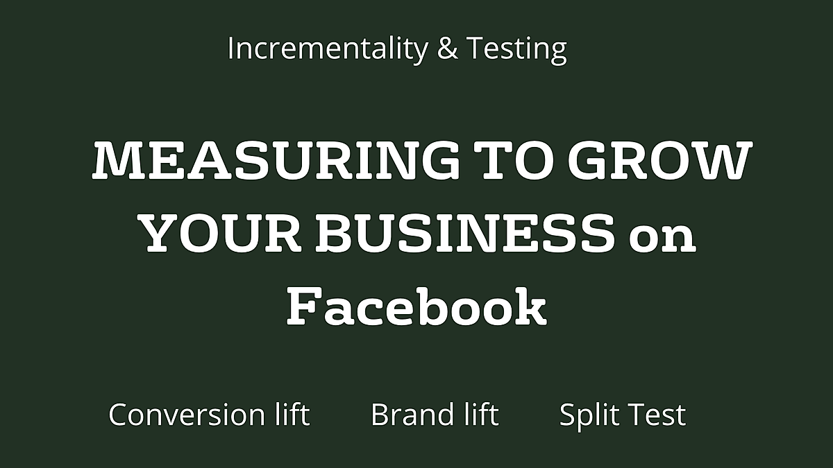 5 Tips for Getting Started with Measurement on Facebook