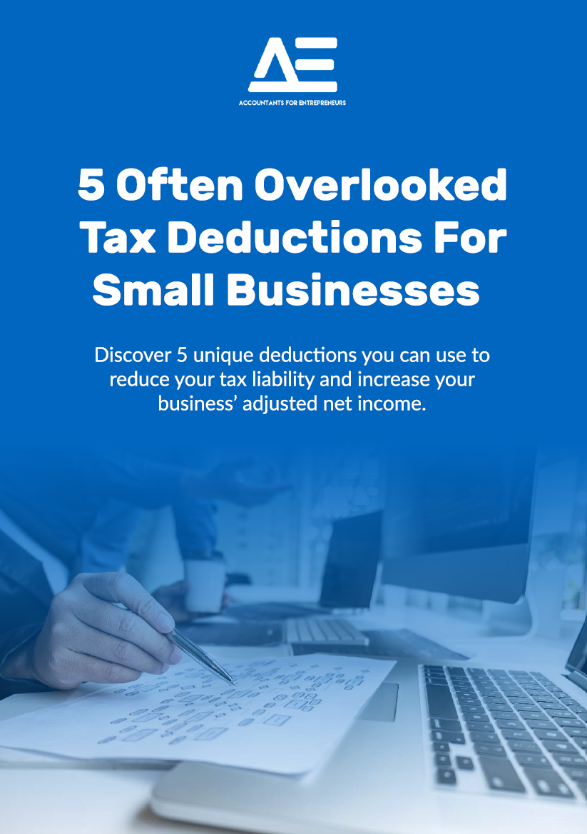 5 Often Overlooked Tax Deductions For Small Businesses