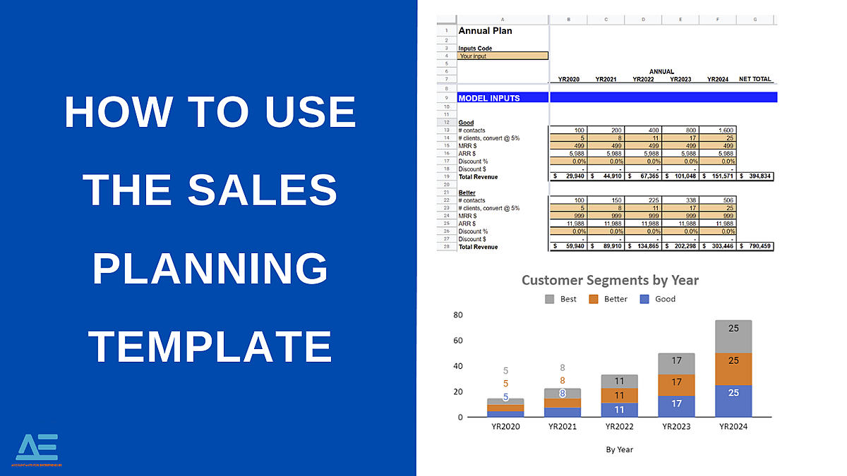 Basic Sales Planning template