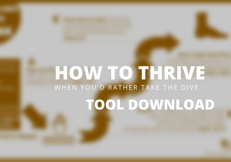 Thrive NOT Dive Tool