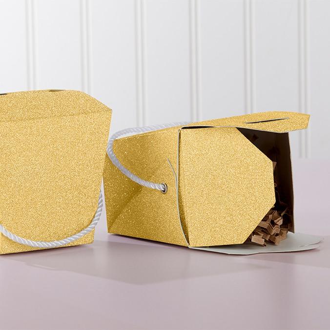 Glitter Takeout Box 10023