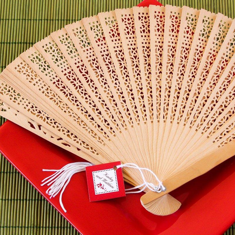 Asian Sandalwood Fans 1003
