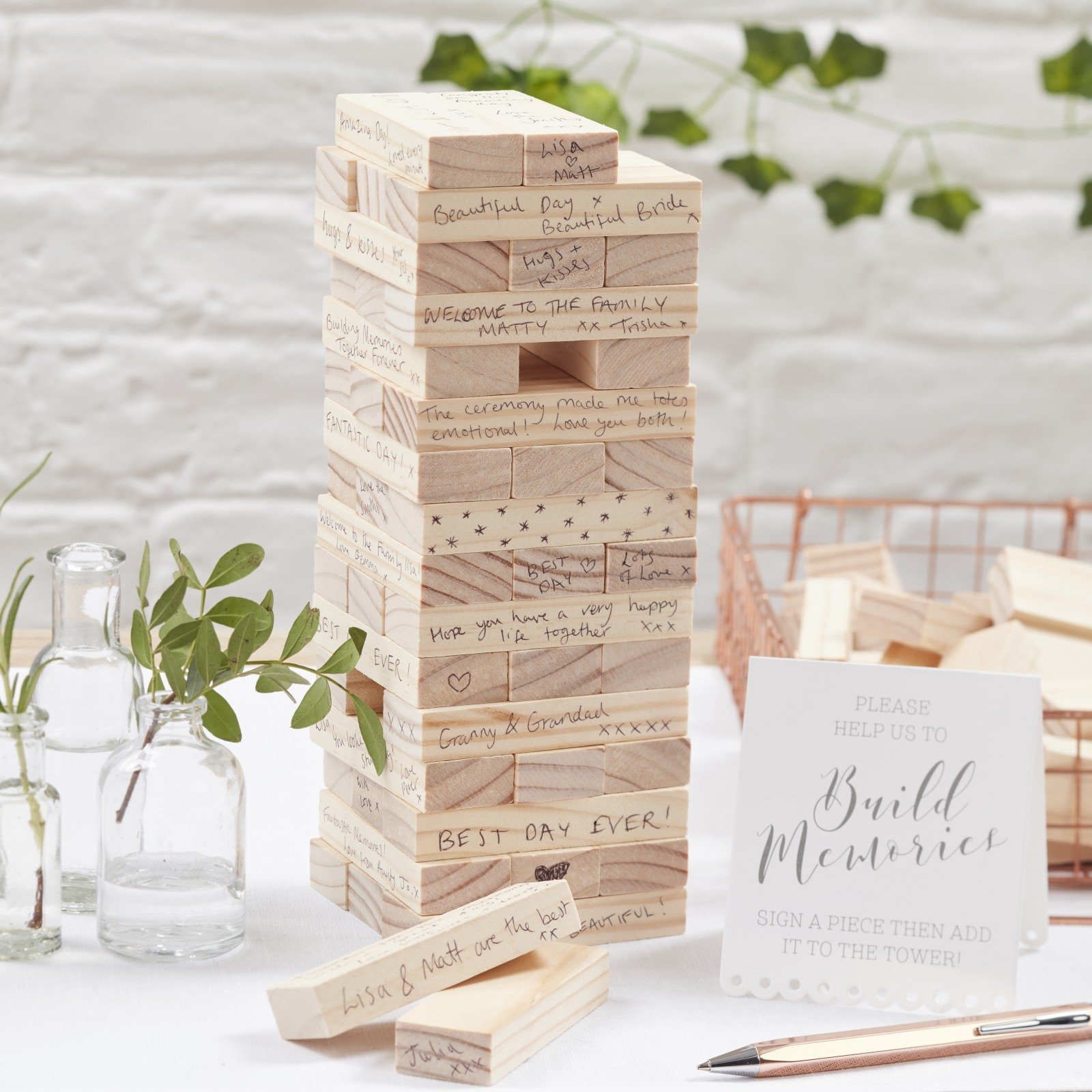 Building Blocks Guest Book 10096