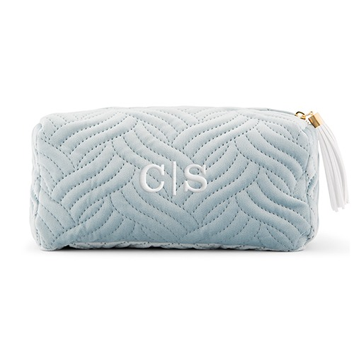 Personalized Velvet Spa Pouch 10441
