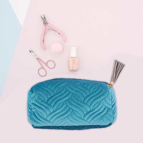Velvet Oasis Blue Pouch