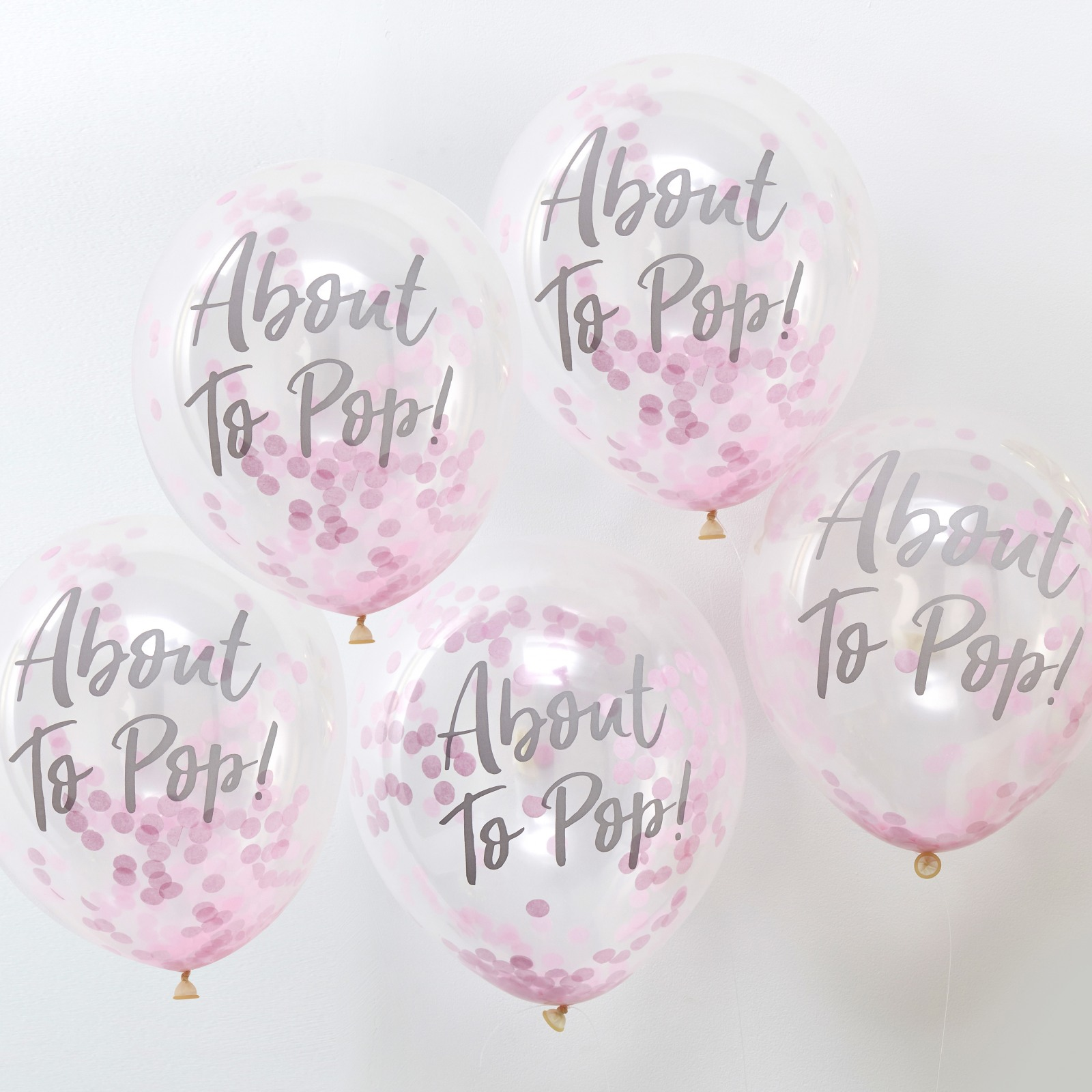 About To Pop Confetti Balloons 10474