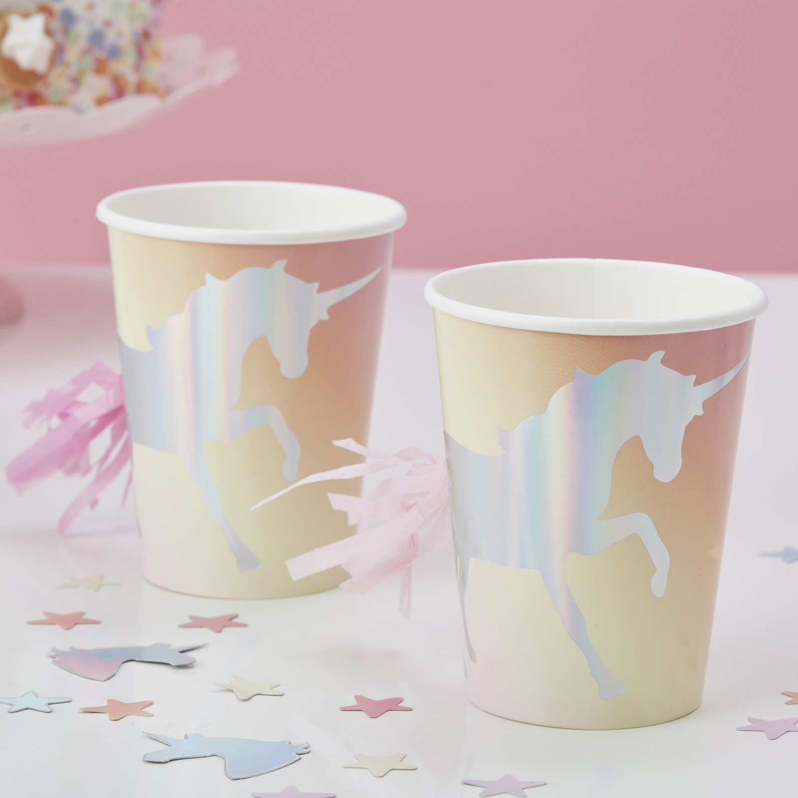 Iridescent Unicorn Cups 10479