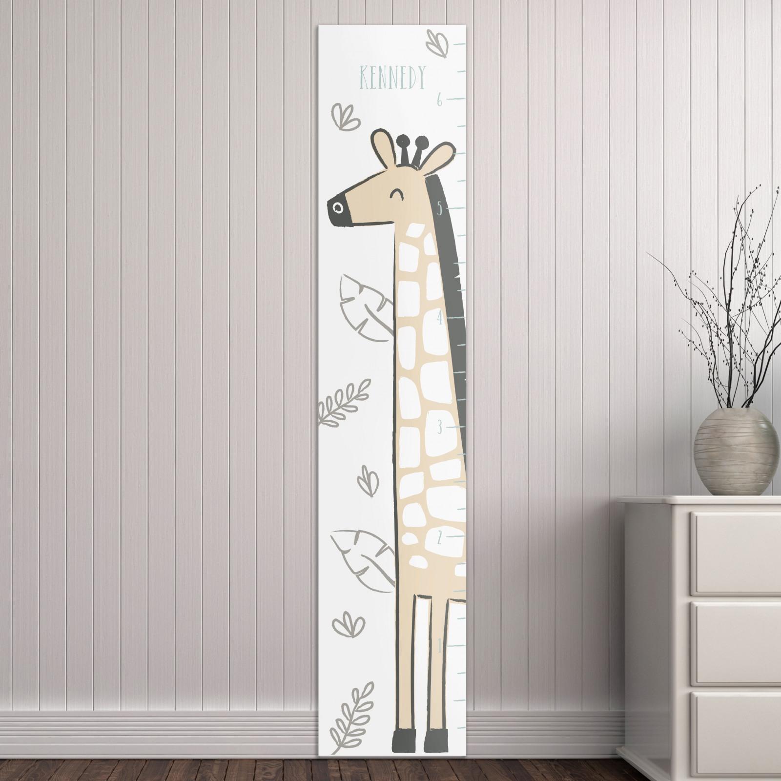 Personalized Giraffe Growth Chart 10494