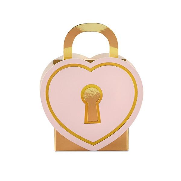 Love Lock Favor Box