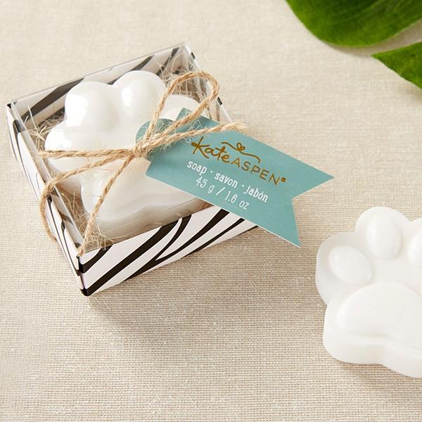 Paw Print Soap Favor
