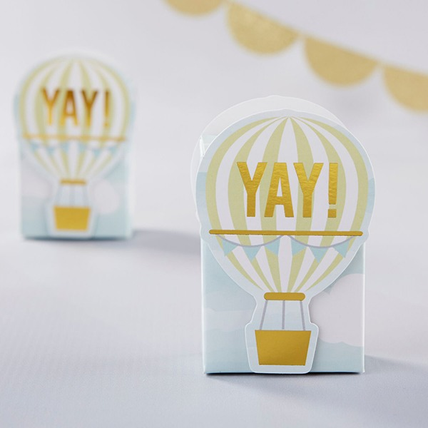 Hot Air Balloon Favor Boxes 10565