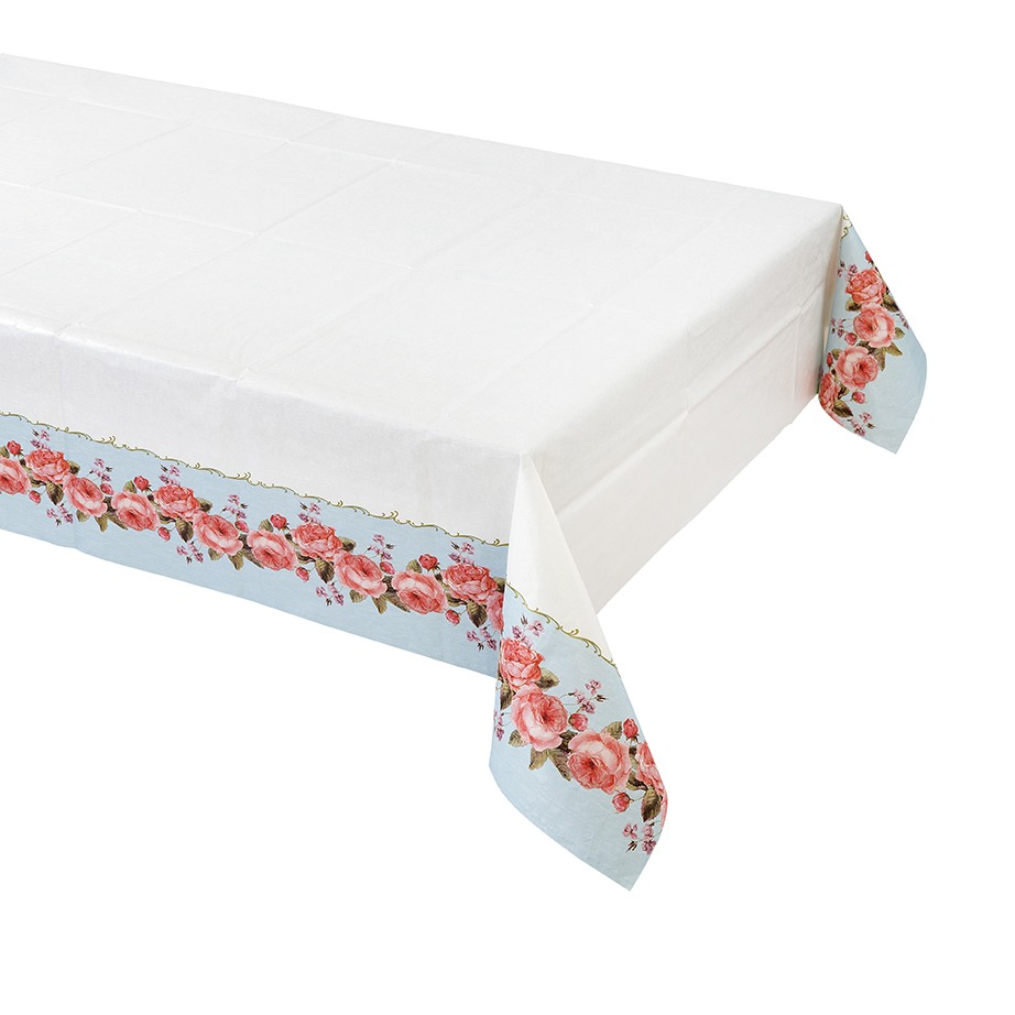Floral Chintz Table Cover 10603