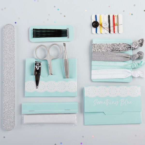Something Blue Wedding Survival Kit - Out of Bag
