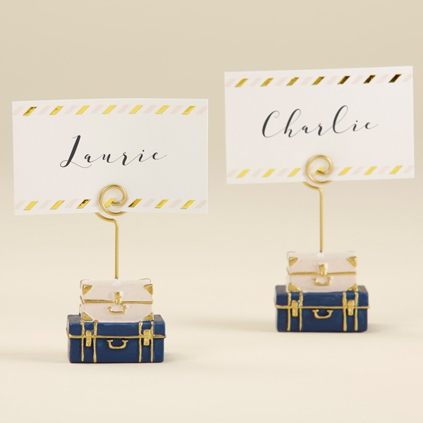 Suitcase Place Card Holder