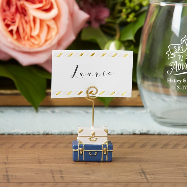 Suitcase Place Card Holder 10692