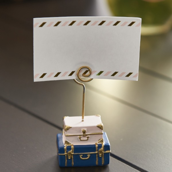 Suitcase Place Card Holder - No Name