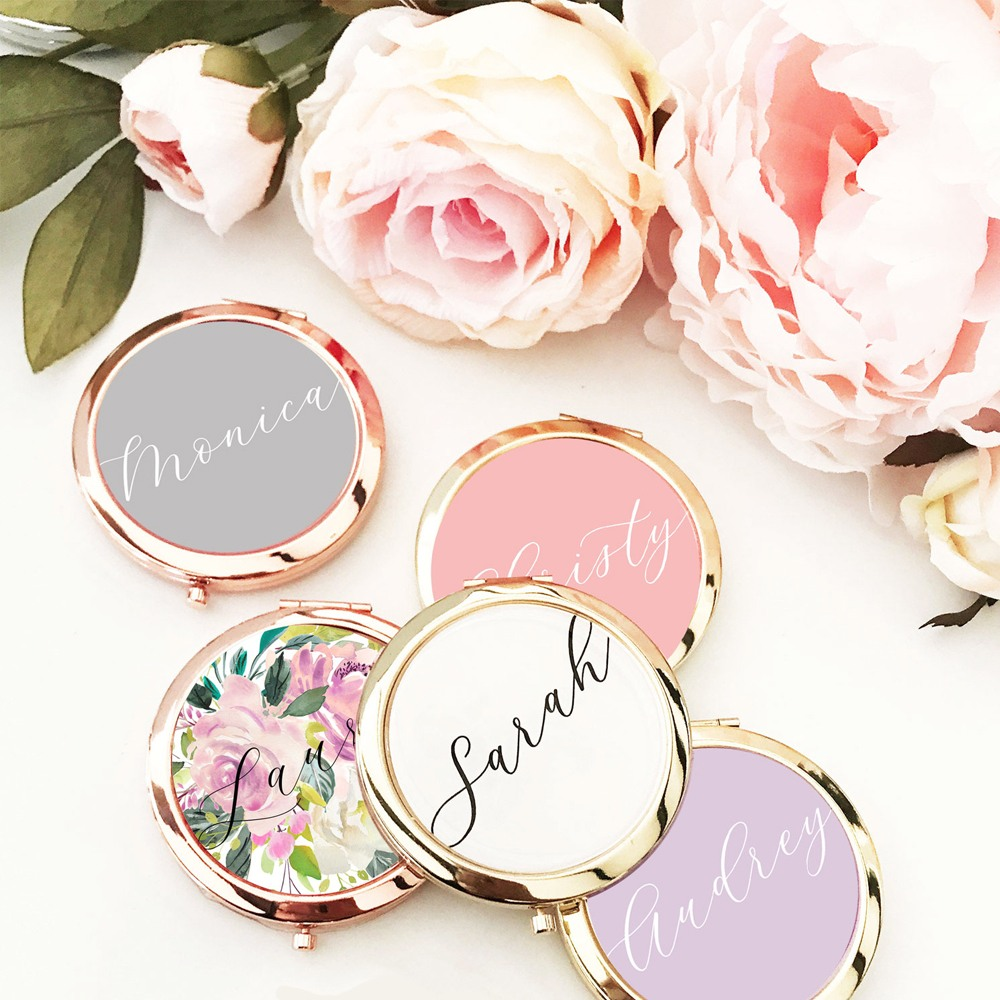 Personalized Compact Mirrors 10751