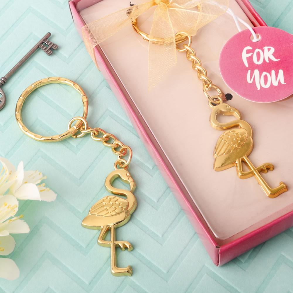 Flamingo Key Chain Favor 10787