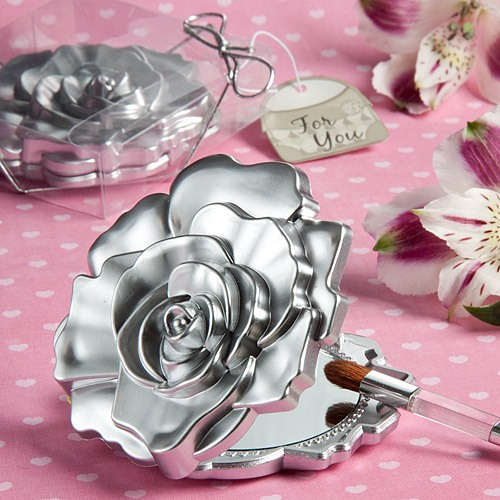Rose Compact Mirror Favor 10795