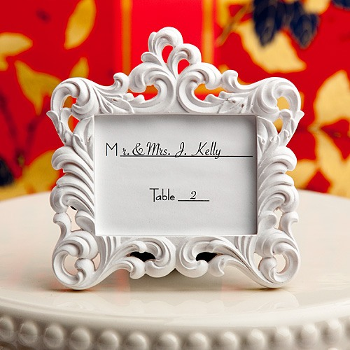 Baroque Place Card Frame 10798