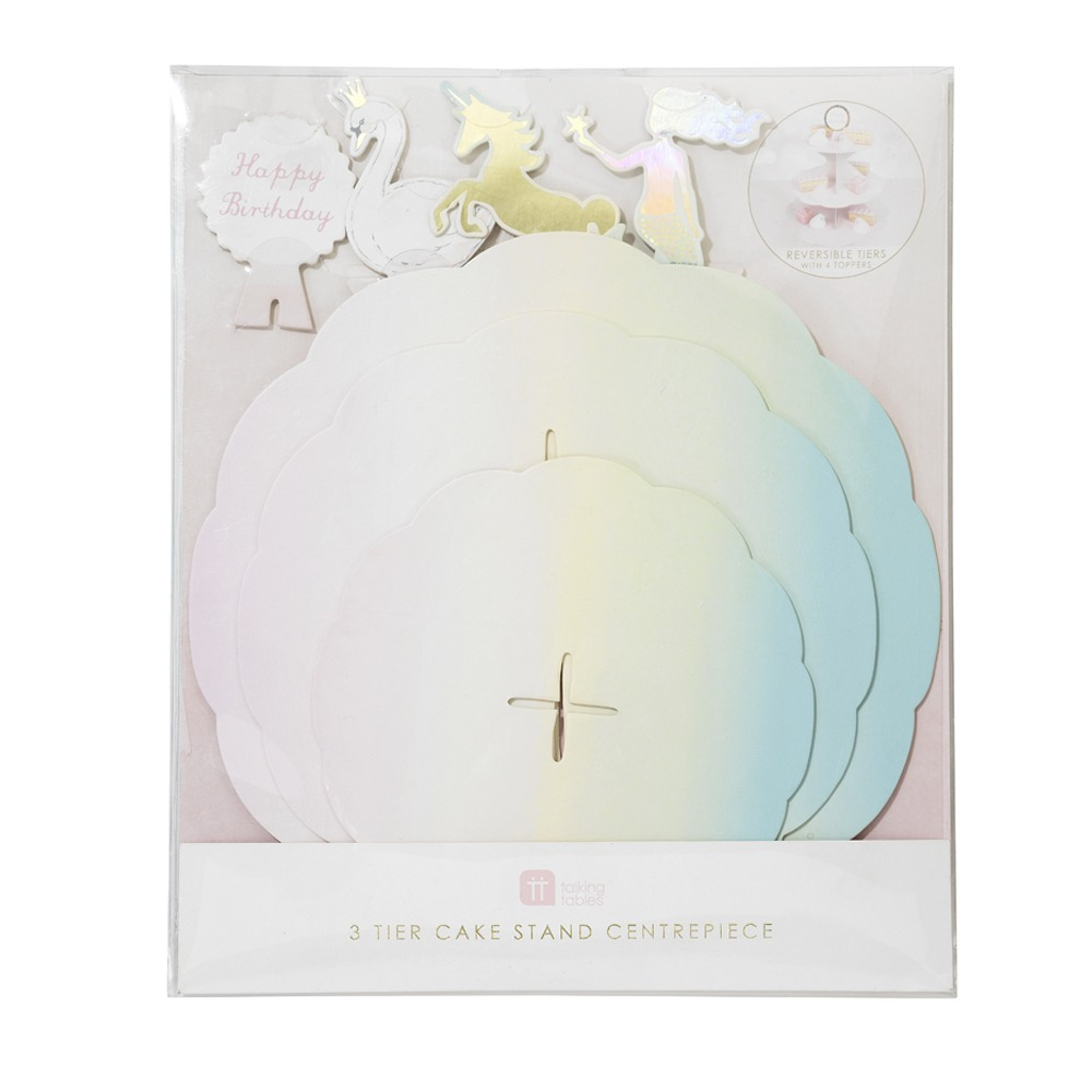 Pastel Themed Cake Stand