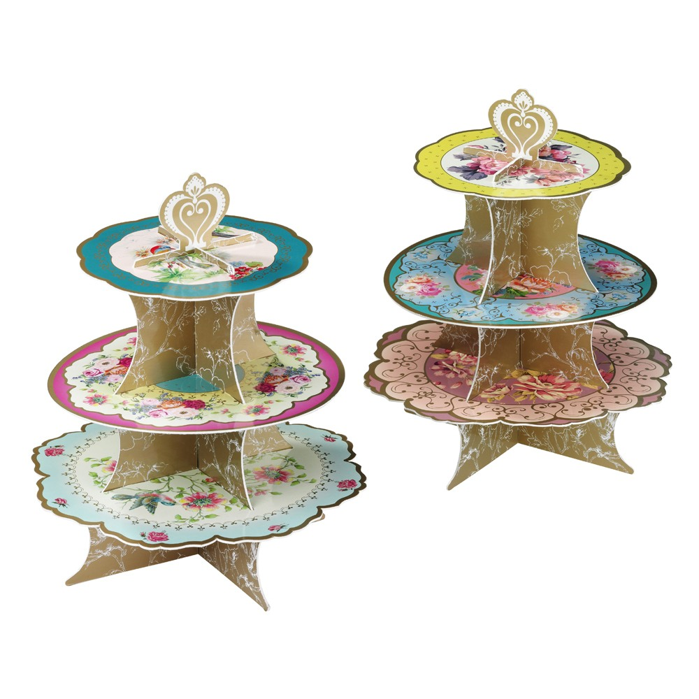 Spiral Three Tier Cake Stand
