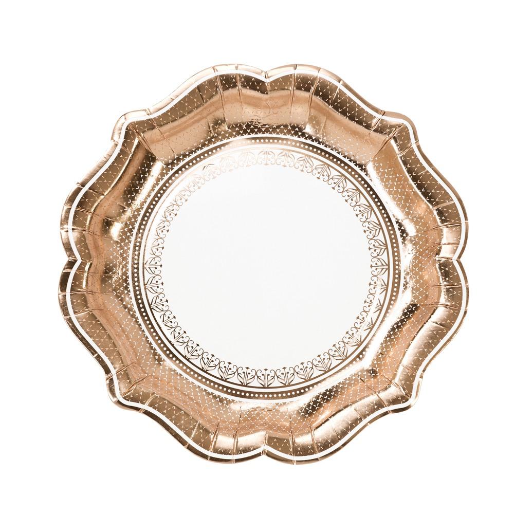 Rose Gold Plates