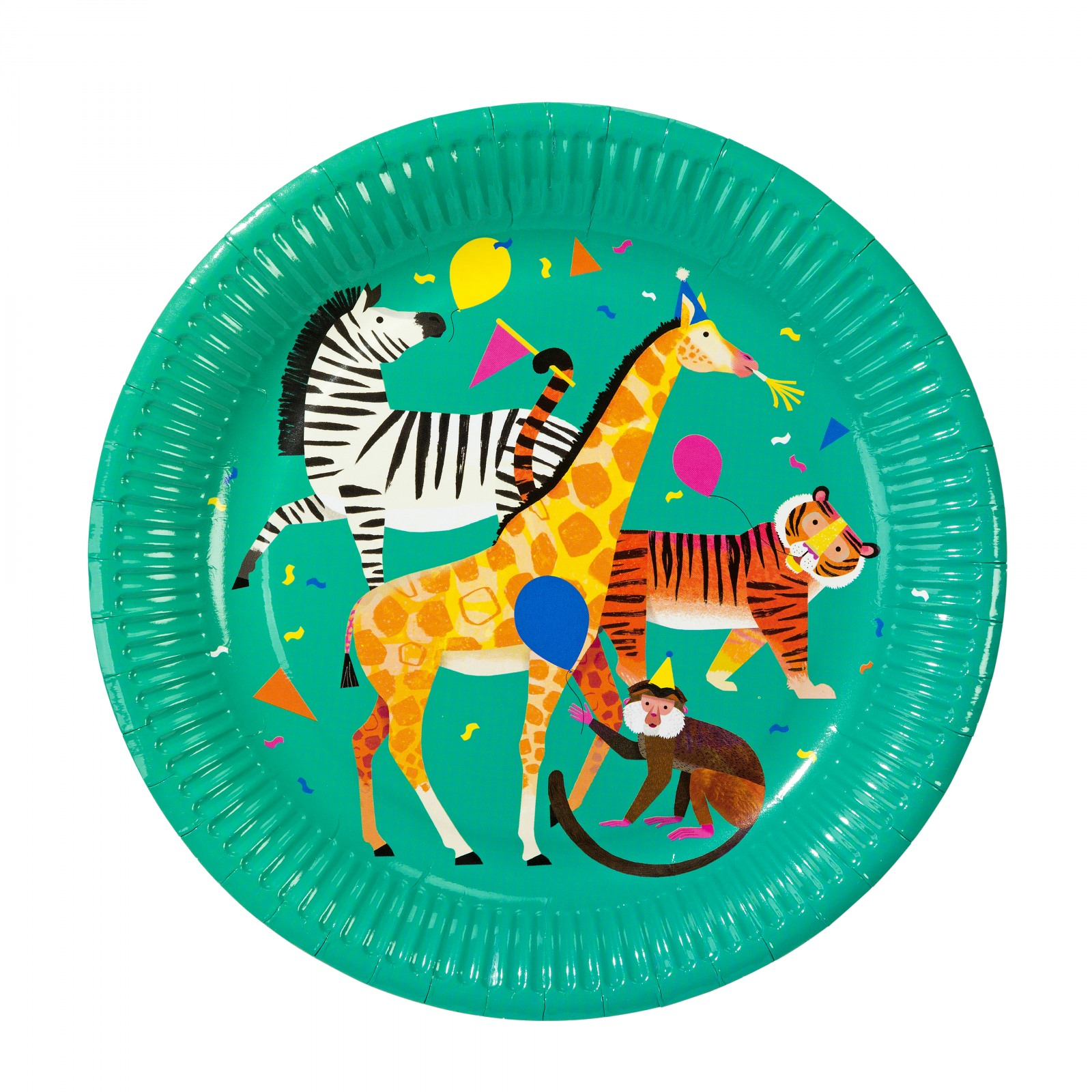 Party Animals Paper Plates 10861