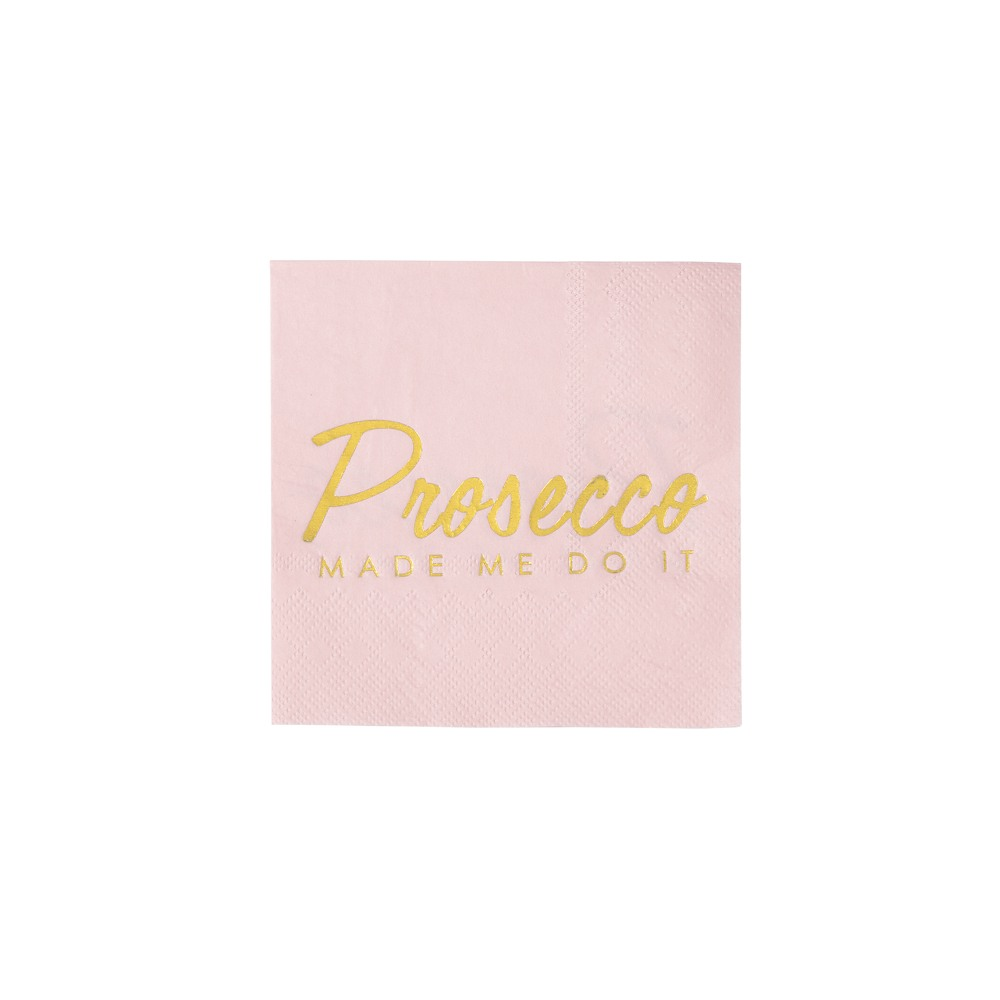 Presecco Party Pink Cocktail Napkins