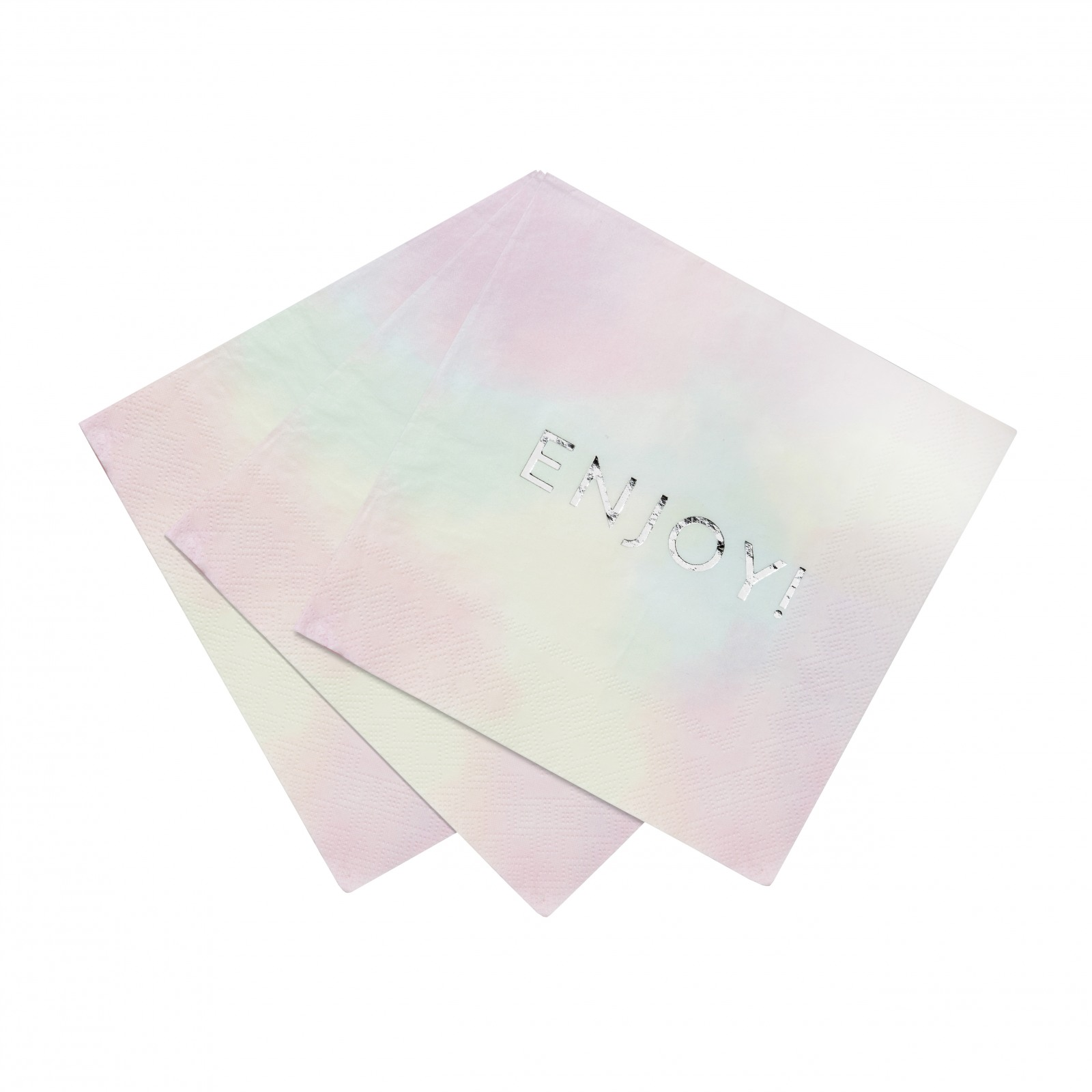 Pastel Enjoy Napkins
