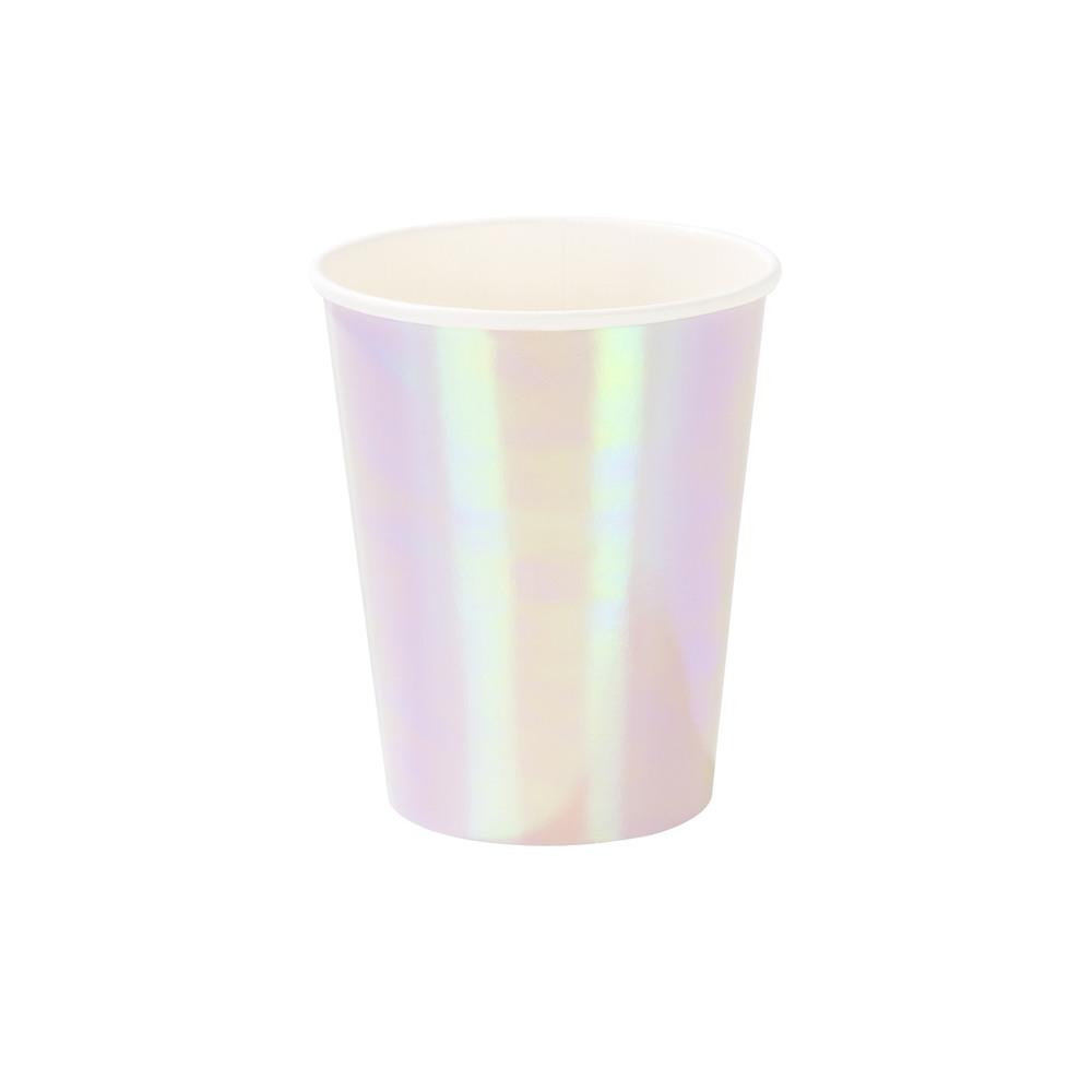 Pastel Iridescent Cups 10871