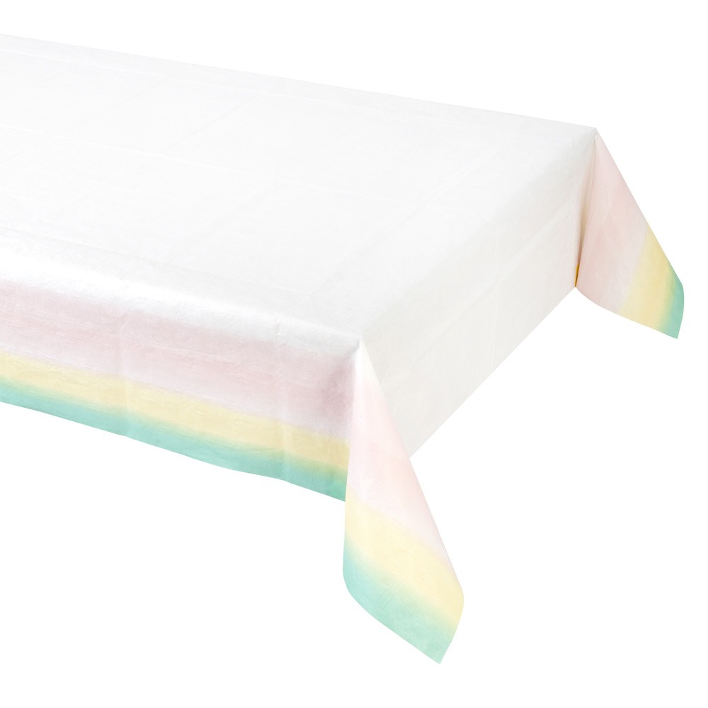 Pastel Ombre Paper Table Cover 10878
