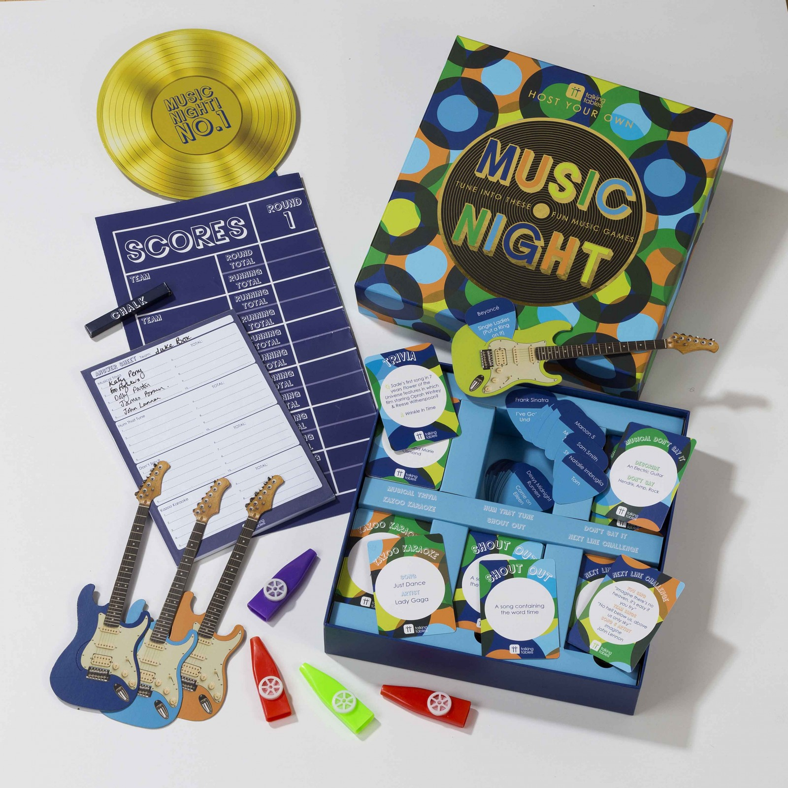 Host Your Own Music Night Game Kit 10881