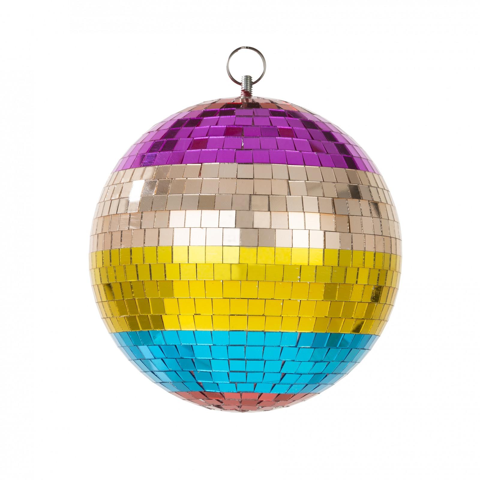 Boho Discoball String Lights