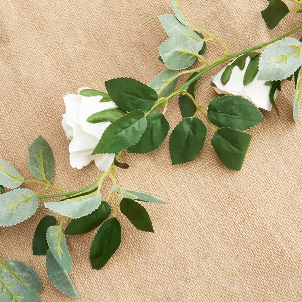 White floral Garland
