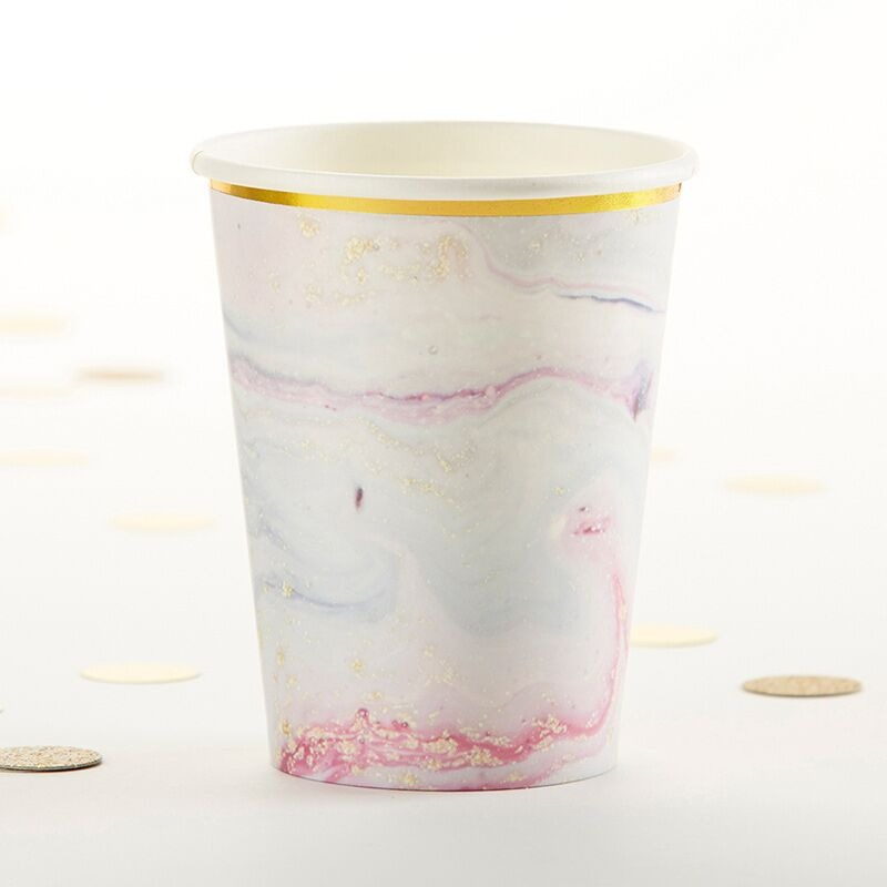 Elements Marble Paper Cups 11026
