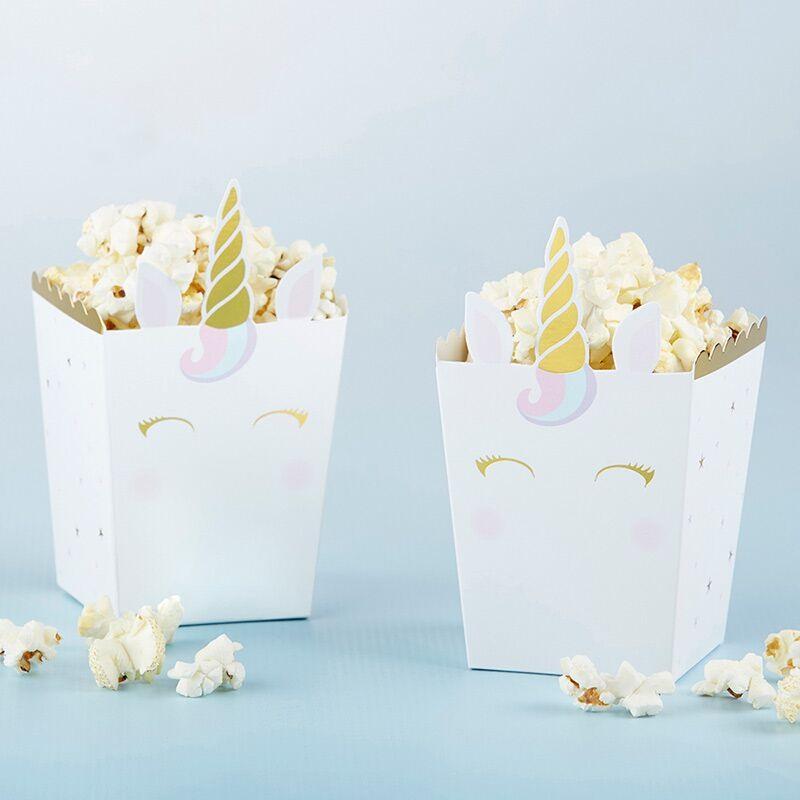 Unicorn Popcorn Box