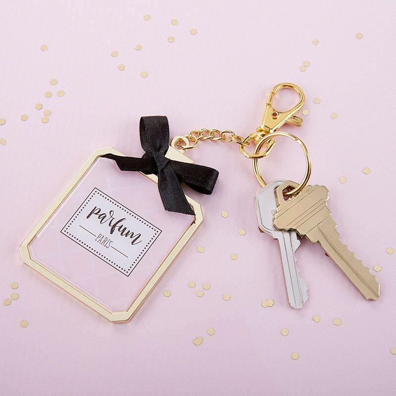 Perfume Key Chain Mirror 11037