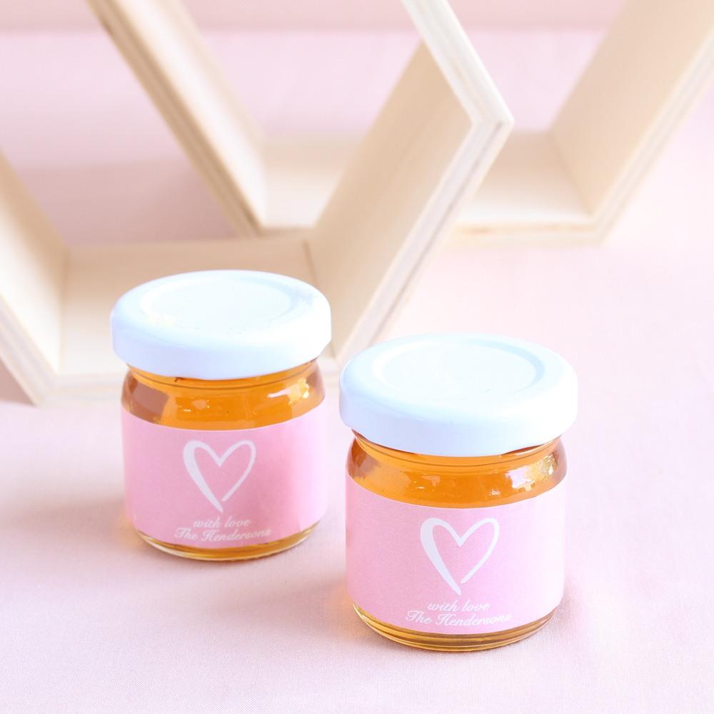 Personalized Wedding Honey Jars 1113