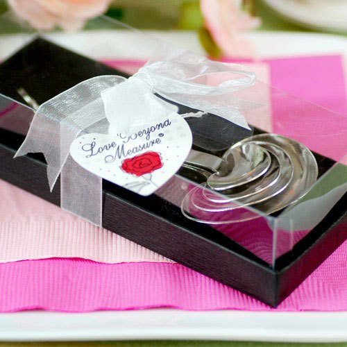 Heart Measuring Spoons in Gift Box