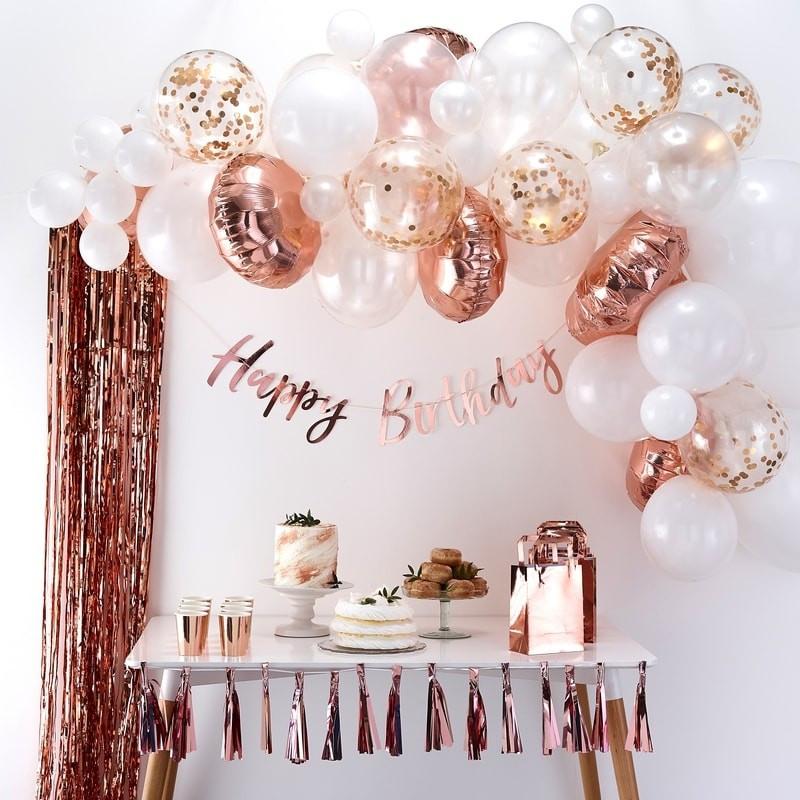 Balloon Arch Kit Rose Gold