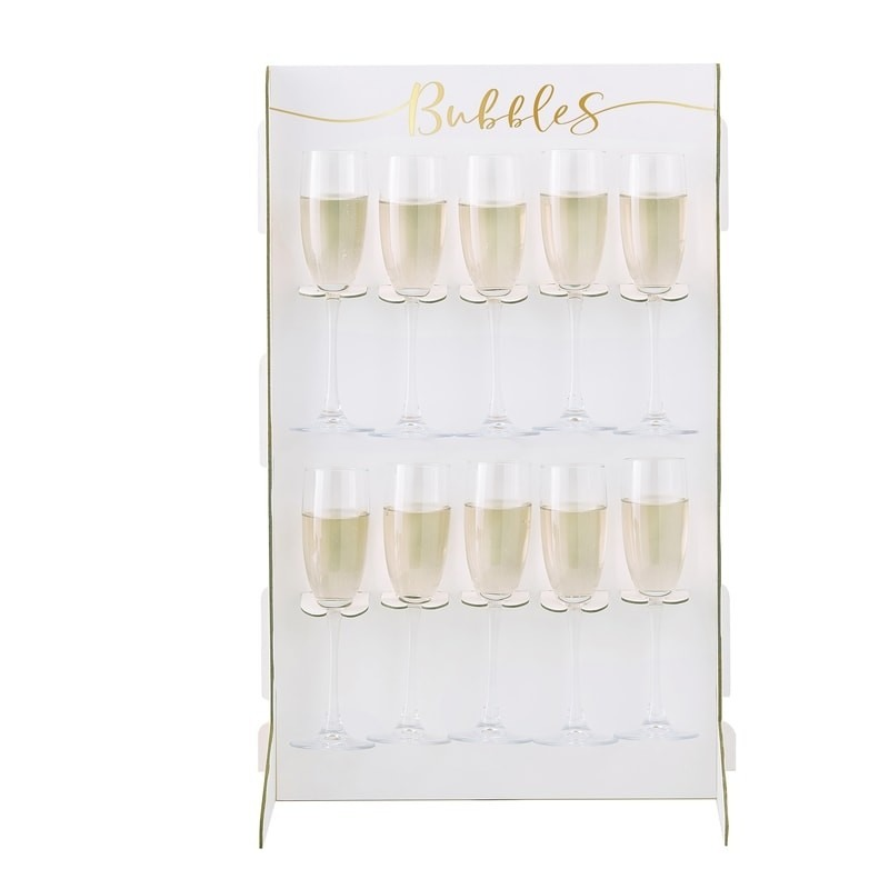 Prosecco Bubbly Drinks Wall Holder 2
