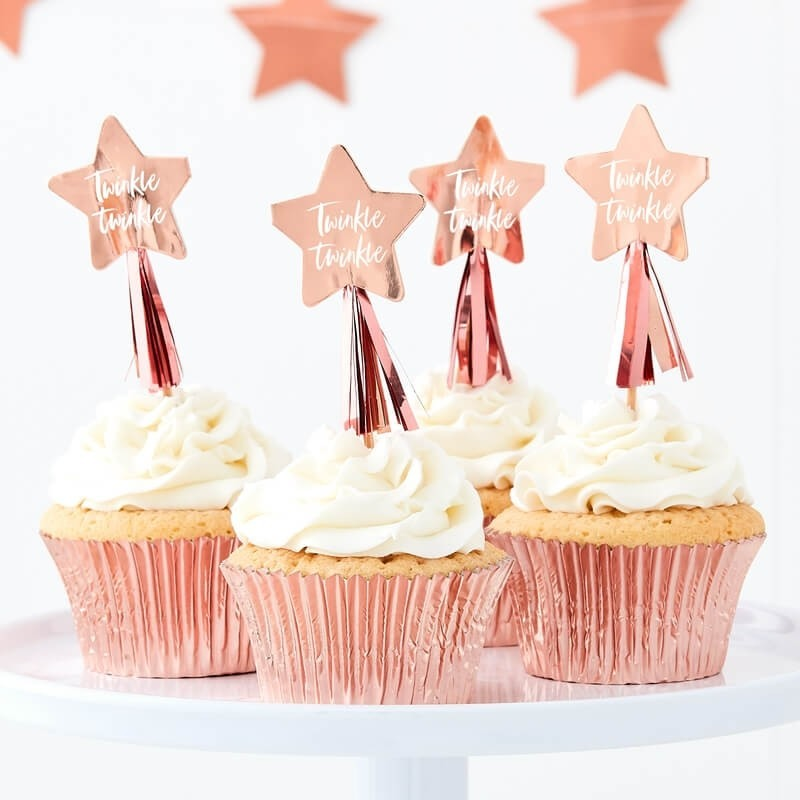 Twinkle Star Cupcake Toppers 11251